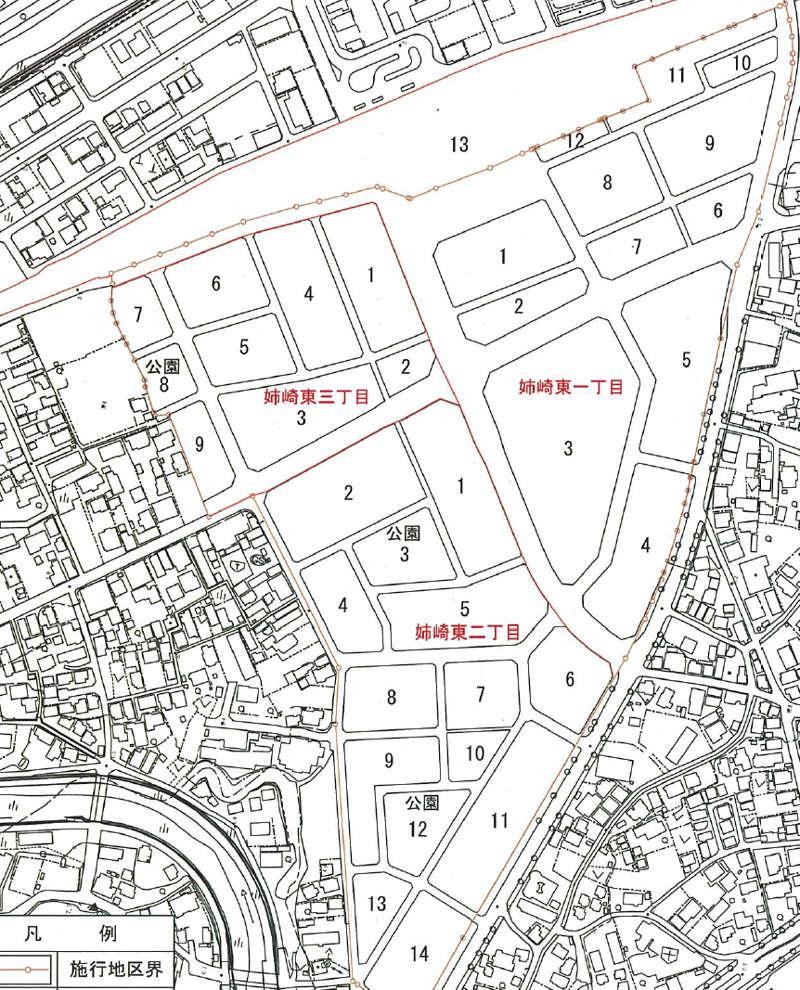 千葉県市原市2017年5月27日区画整理事業住所変更区域図他1