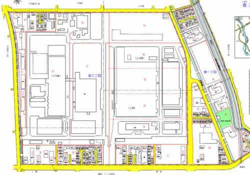 神奈川県海老名市2017年2月13日住居表示住所変更区域図他2
