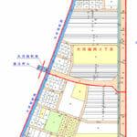 石川県金沢市2017年1月21日区画整理事業住所変更区域図他1