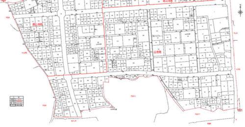 福島県須賀川市2017年8月19日区画整理事業住所変更区域図他2