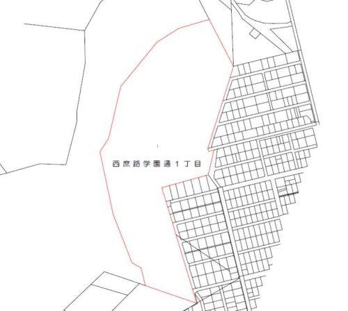 北海道白糠郡白糠町2017年9月23日字名改正事業による住所変更区域図他3