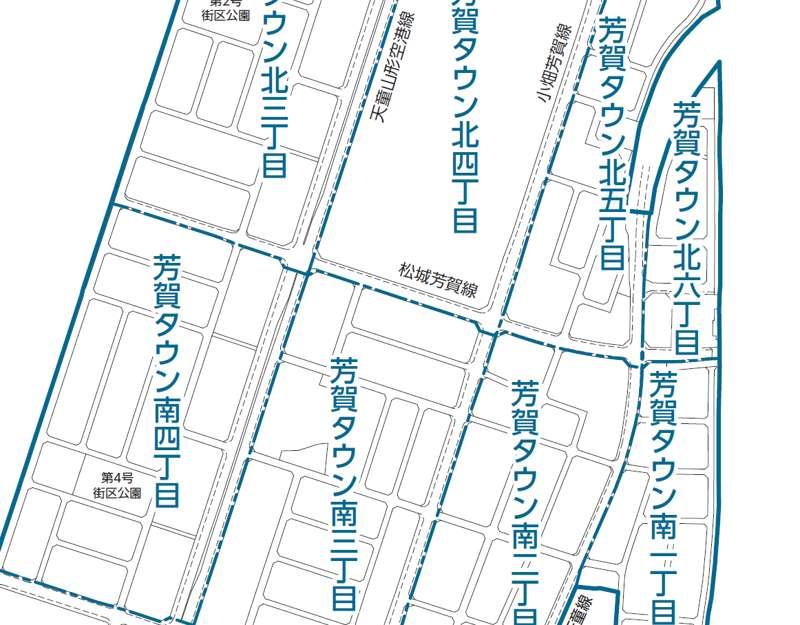 山形県天童市2017年11月13日住居表示住所変更 アイキャッチ