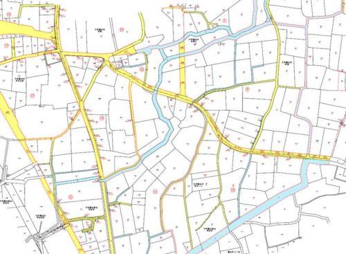 埼玉県川越市2018年3月5日町名地番整理住所変更区域図他2