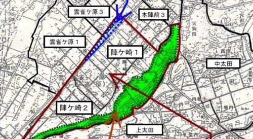 福島県南相馬市2018年4月1日字の区域及び名称変更住所変更区域図他1