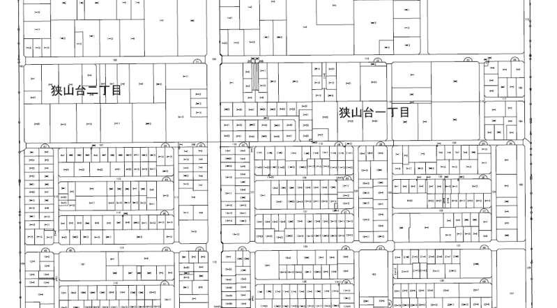 埼玉県入間市2018年9月15日区画整理事業住所変更区域図他1