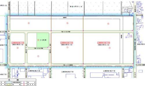 北海道旭川市2018年11月19日住居表示住所変更区域図他1