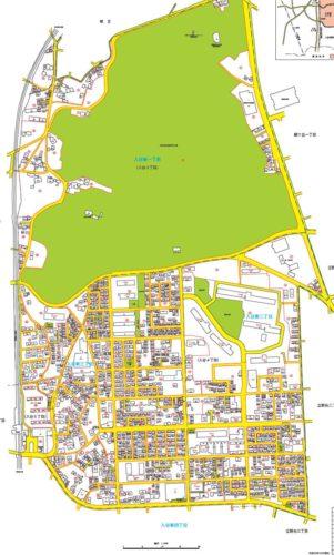 神奈川県座間市2019年2月12日住居表示住所変更全体図1