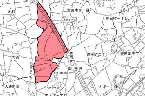埼玉県川越市2019年3月4日町名地番整理住所変更区域図他1