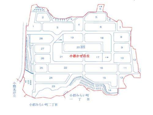 山口県山口市2019年2月16日住居表示住所変更区域図他1