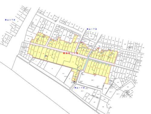 石川県金沢市2019年5月1日町の区域及び名称変更住所変更区域図他
