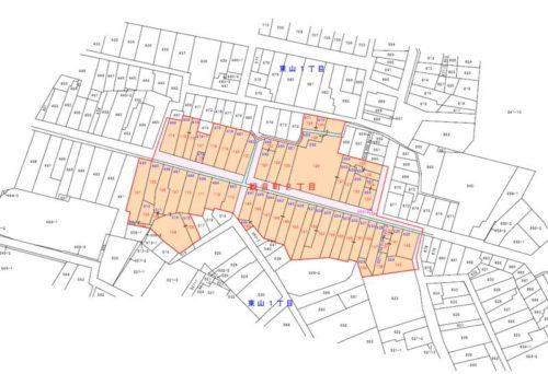 石川県金沢市2019年5月1日町の区域及び名称変更住所変更区域図他2