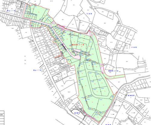石川県金沢市2019年5月1日町の区域及び名称変更住所変更区域図他3