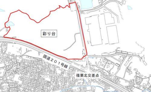 福岡県糟屋郡篠栗町2019年11月2日住居表示住所変更区域図他2