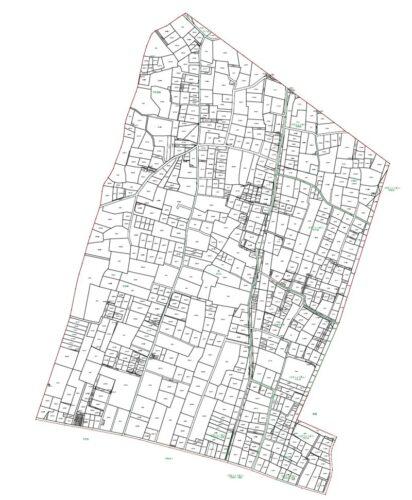 埼玉県深谷市2020年2月22日区画整理事業住所変更区域図他2