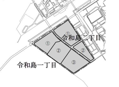 東京都大田区2020年6月1日住居表示住所変更区域図他1