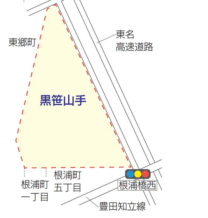 愛知県みよし市2020年7月1日町の区域及び名称変更住所変更区域図他1