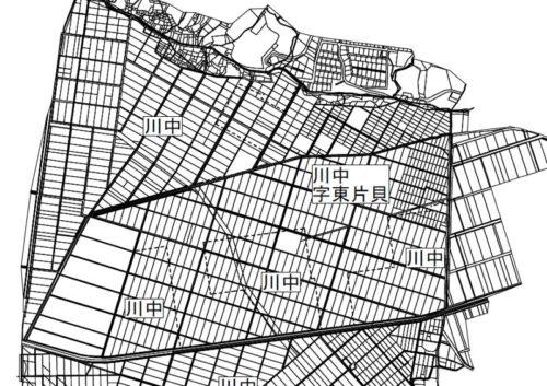 新潟県長岡市2020年8月19日町名地番整理住所変更区域図他1